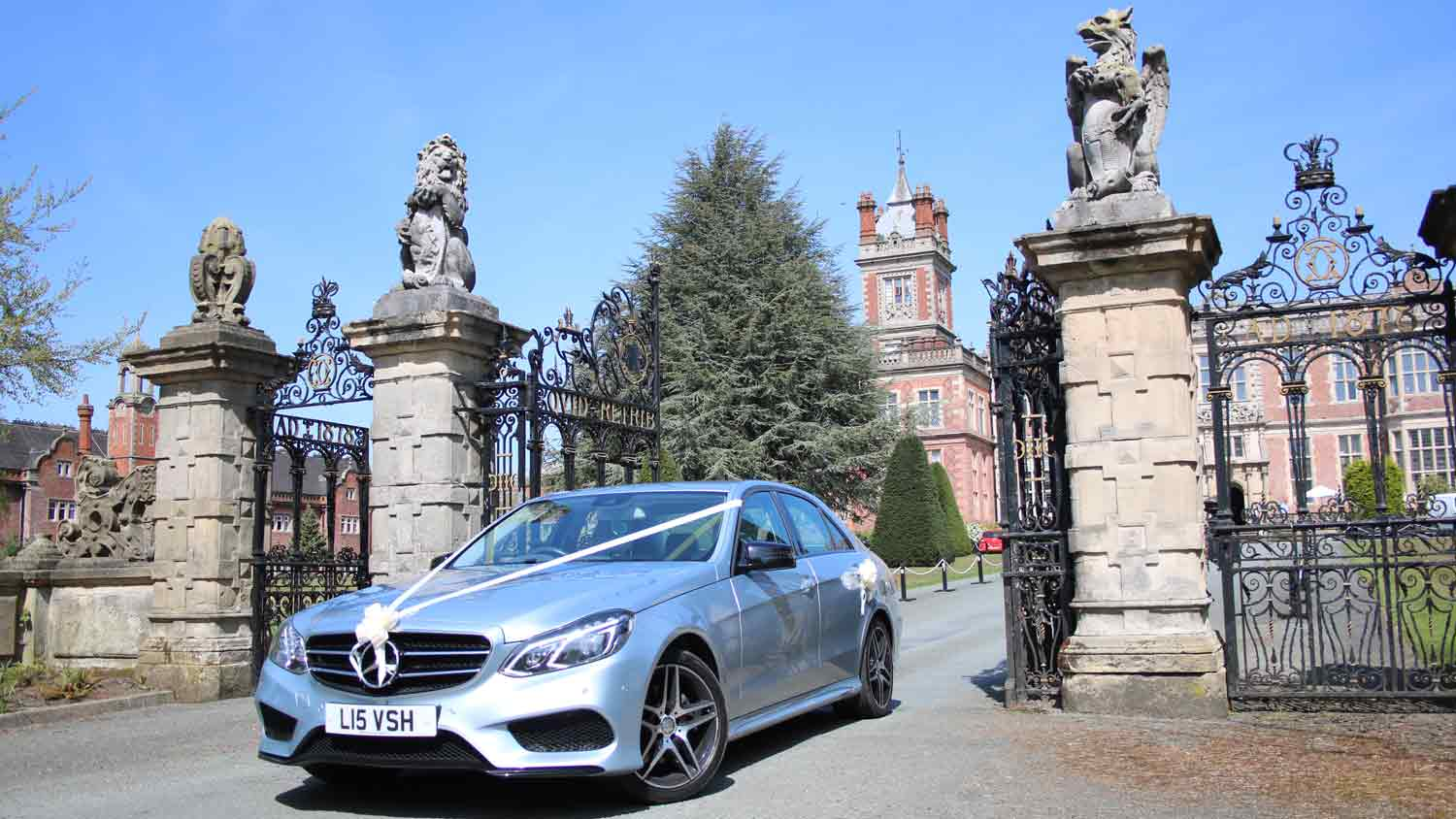 Wedding car hire in Stoke-on-Trent and Staffordshire